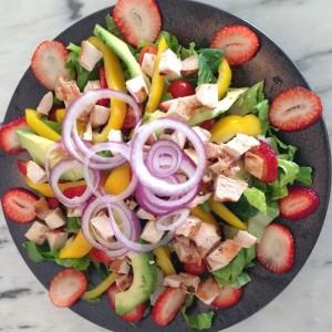 strawberry cobb salad