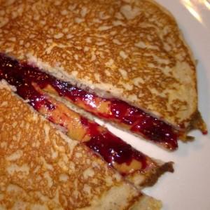 pb & jam sandwich
