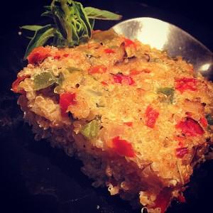 quinoa pie